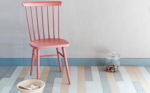 Lichtgrijze Houten Vloer : Histor verfkluswijzer houten vloer schilderen
